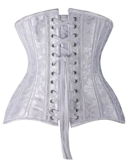 26 Double Steel Boned Waist Training Corset Underbust Waist Trainer Corset Wholesale pictures & photos