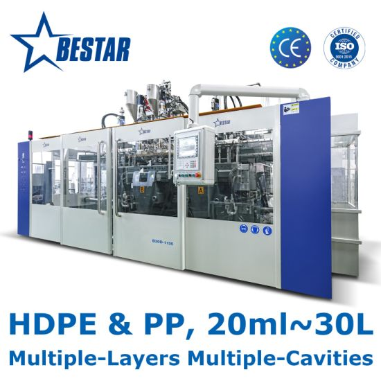 B20d-1150 Bestar Automatic Blow Molding Machine for HDPE PP