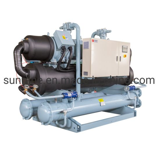 464 Kw New Wholesale Industrial Recirculation Water Cooled Screw Chiller Price