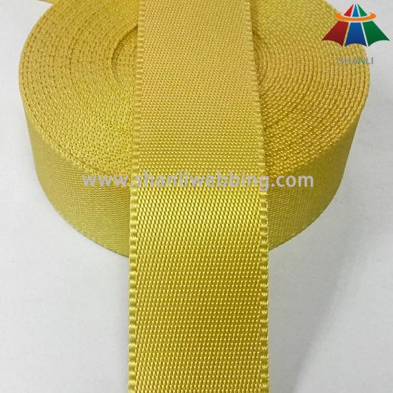 1.5 Inch Yellow Side Locking Nylon Webbing