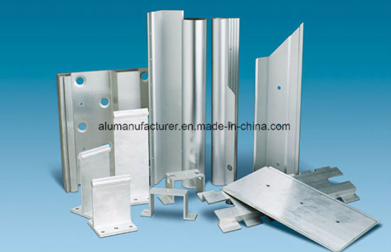 Further Processing Aluminium Alloy Extrusion Profile for Door and Window pictures & photos