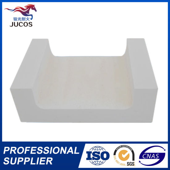 Glass Furnace Fused Refractory Bricks Azs Blocks pictures & photos