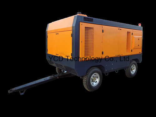 Diesel Driven Portable Screw Air Compressor (DSC660H) for Mining, Shipbuilding, Urban Construction, Energy, Military and Industries pictures & photos