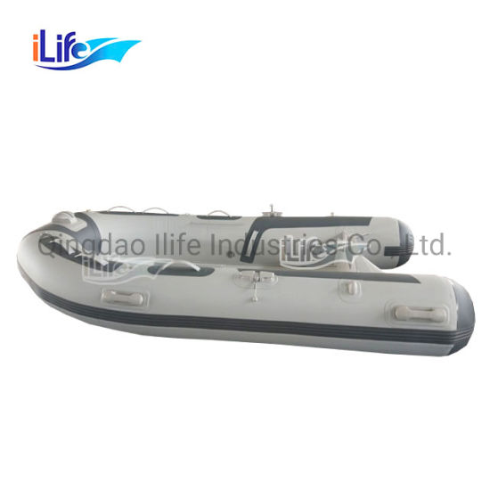 Ilife 2 Person Ce Inflatable Deep V Shape 270 Cheap Rib Boat for Sale