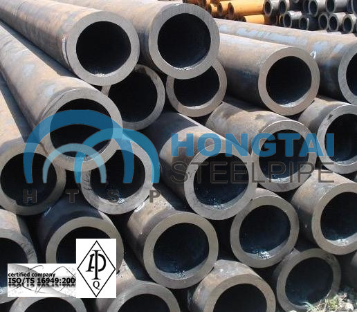 Supplier of Hot Rolled ASTM A53 Gr B Seamless Steel Pipe with API Certificate pictures & photos