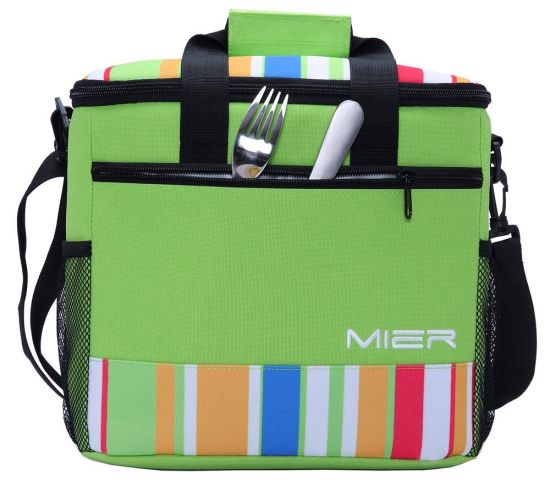15L Large Insulated Lunch Food Picnic Ice Can Cooler Bag