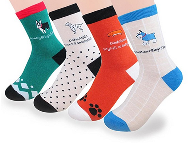 Custom Fashionable Cartoon Jacquard Sock in Various Designs and Sizes pictures & photos