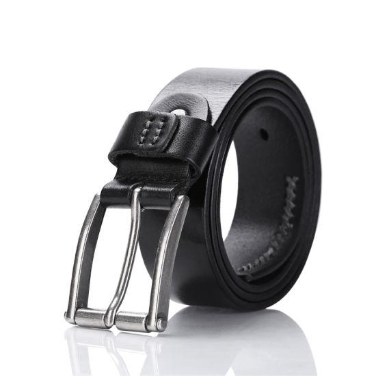 Vintage Pin Buckle Leather Belts for Men Strap Vintage Belt