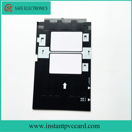 Office Electronics Pvc Id Card Tray Plastic Card Printing Tray For Epson R260 R265 R270 R280 R290 R380 R390 Rx680 T50 T60 A50 P50 L800 L801 R330 High Safety Printer Supplies