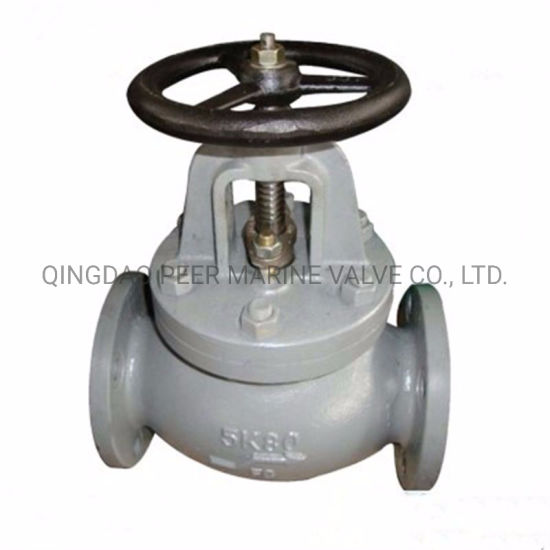 JIS F7305 5K80 Marine Cast Iron Flanged End Globe Valve