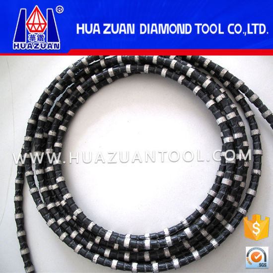 Diamond Wire Saw for Marble Cutting Marble Block Squaring Profiling pictures & photos
