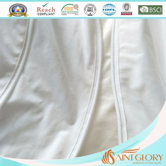 Twin Size Zippered Mattress Protector pictures & photos