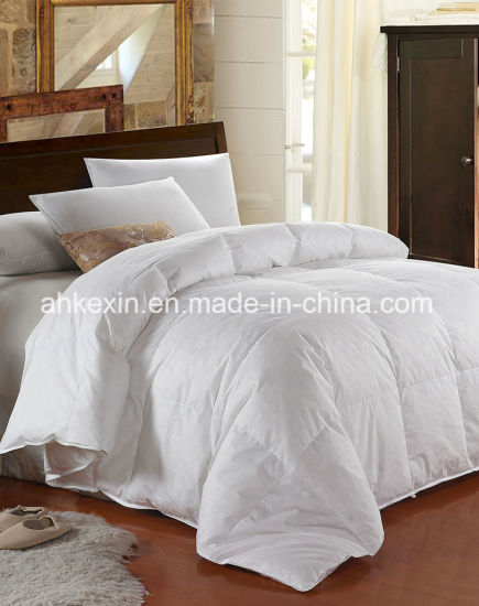 European Size 90% Grey Duck Down Comforter pictures & photos