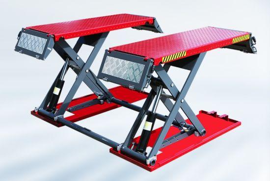 Factory Lift Car Hoist Middle Rise Scissor Car Lift Garage Auto Equipment