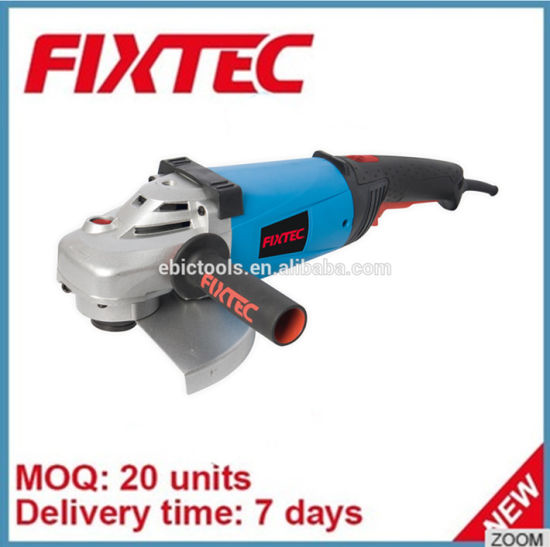 China Fixtec Power Tools 2350W 180mm Electric Hardware Angle Grinder