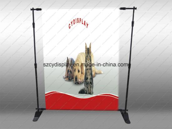 Jumbo Adjustable Banner/Standbackdrop Banner Stand