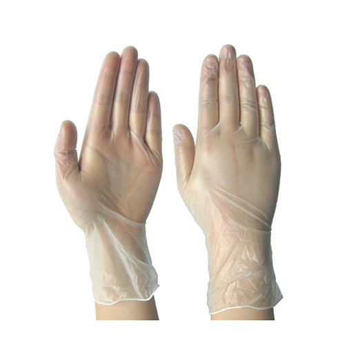 Disposable Vinyl Gloves Cleanroom Working Gloves pictures & photos