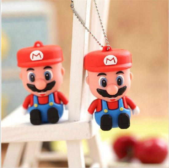 USB Pendrive Customize Fashion Design USB Flash Drive PVC Cartoon Shape USB Memory Stick