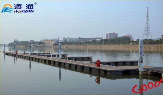 Marina Equipment Qualified Steel Pontoon Floating Dock Made in China pictures & photos