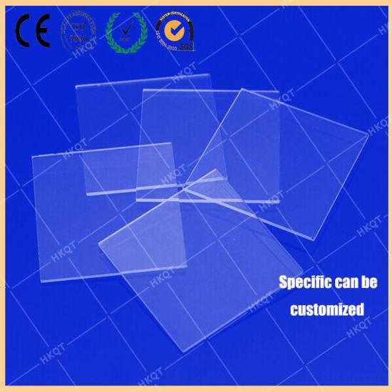 China Round Shape Quartz Glass, Square Quartz Windows/ Quartz Plate