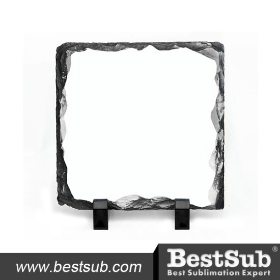Bestsub Small Square Sublimation Photo Slate (SBBH19) pictures & photos