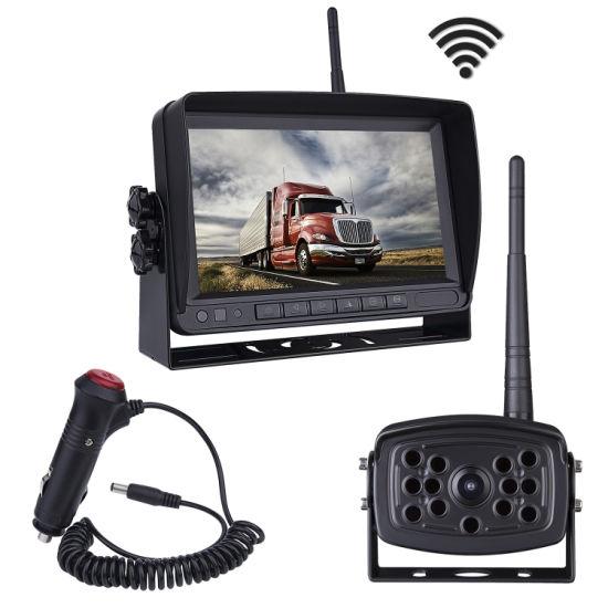 China Digital WiFi Wireless IR/LED Truck/Bus/Van Reversing Camera ...
