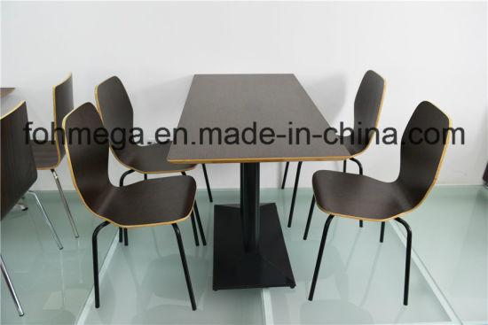 China Fast Food Restaurant Table Set Commercial Furniture FOH - Commercial dining table sets