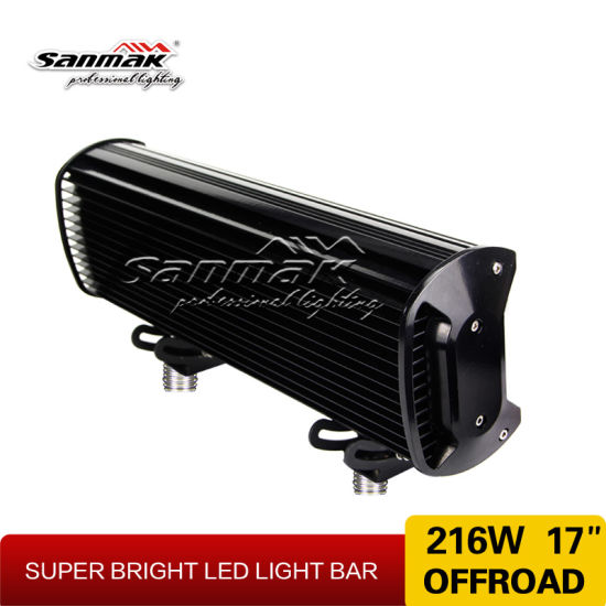 "Sanmak Lighting 17"" 216W Super Bright LED Offroad Light Bar pictures & photos"