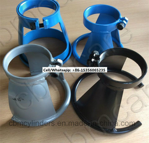 "OXYGEN TANK STEEL CAP COVER SAFELY TRANSPORT 3-1//8/"" THREAD CYLINDER"