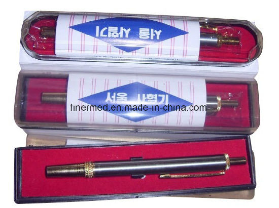 Adjustable Automatic Blood Lancet Pen pictures & photos