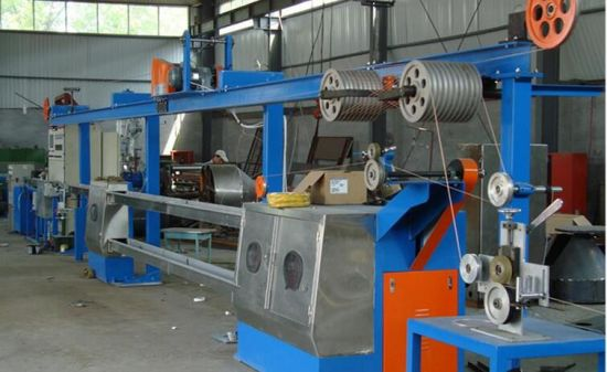 China Good Performance Wire & Cable Extrusion Line - China Cable ...