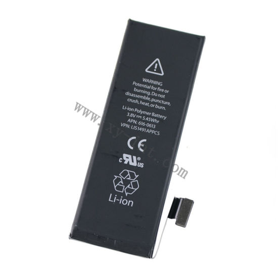 3.7V Lithium Polymer Mobile Phone Batteries for iPhone 5c pictures & photos