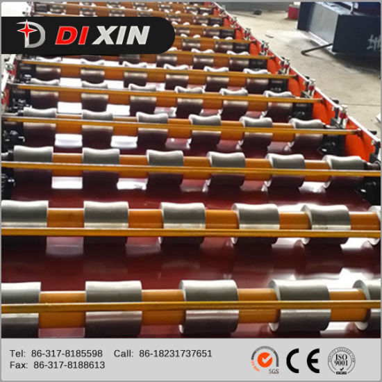Dx ISO Certificate Trapezoidal Iron Sheet Roof Making Machine pictures & photos