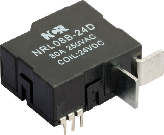 60A 1-Phase 12V Magnetic Latching Relay (NRL709A) pictures & photos