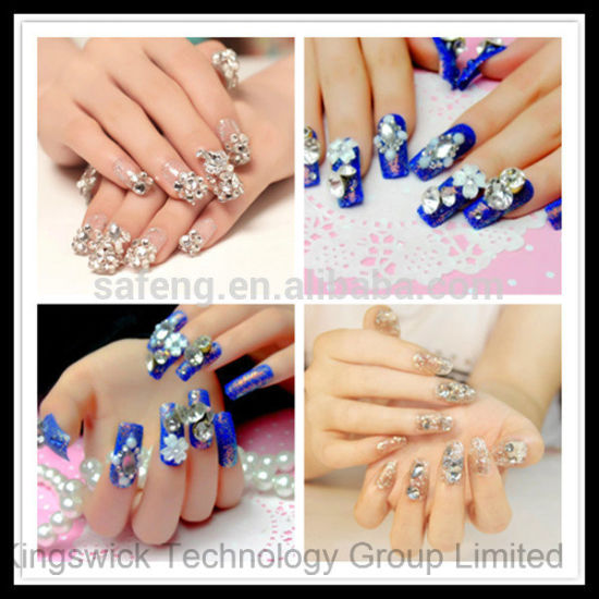 Wholesale Crystal Rhinestone Hot Fix Nail Art Rhinestone for Nail Art pictures & photos
