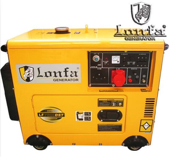 3 Phase Soundproof 8kVA Diesel Generator Set