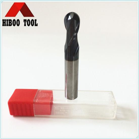 HRC55 Hiboo Carbide Ball Nose Cutter