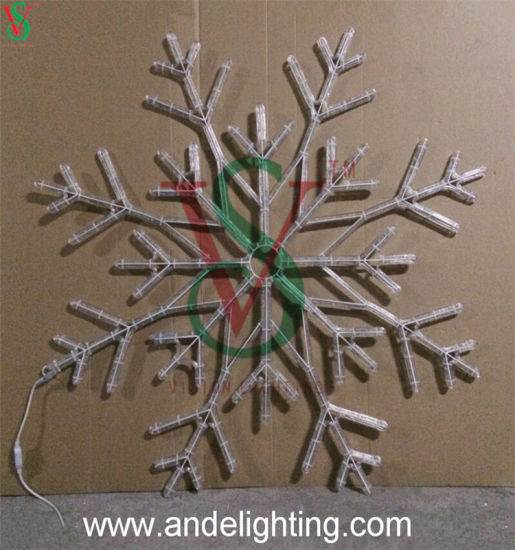 Outdoor Christmas Window Hanging Snowflake Lights pictures & photos