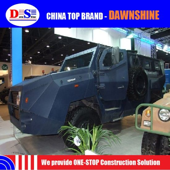 China Military Technology Poly Technologies Anti-Riot Wheeled Armoured Vehicle