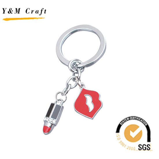 China Lip and Lip Stick Metal Keychain for Women (Y03890) - China ... 7d230b07ee