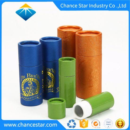 Custom Special Paper Cardboard Kraft Tubes for Bottles