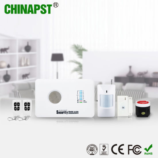 Smart Wireless Alarm GSM Home Security Alarm (PST-G10C) pictures & photos