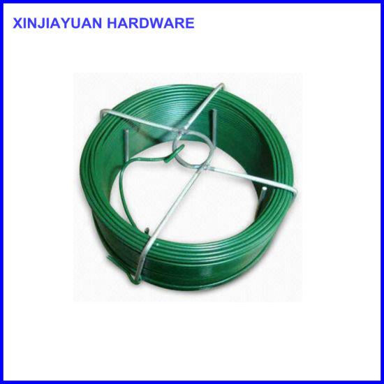 China Yellow PVC Coated Iron Wire with Bracket - China PVC Coated ...