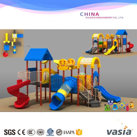 Preschool Children Outdoor Playground Slides Playground pictures & photos