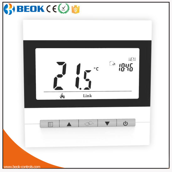 LCD Digital Display Electrical Underfloor Heating Room Thermostat (TOL40-EP) pictures & photos