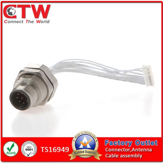 Enjoyable China M12 Auto Wire Harness China Wire Harness Wiring Harness Wiring 101 Eumquscobadownsetwise Assnl