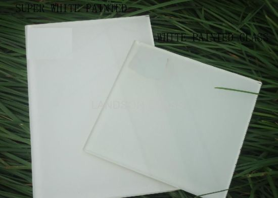 5mm Silk Screen Printing Tempered Glass for Desk
