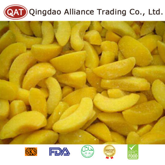 Top Quality Frozen Yellow Peach Slices pictures & photos