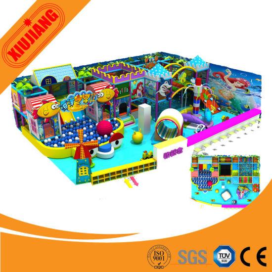 2015 New Design Children Playground Indoor (XJ1001-BD25)