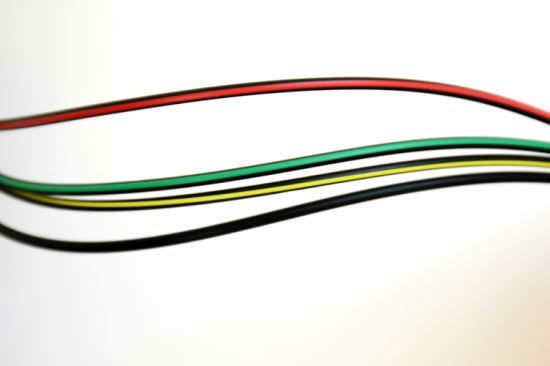 CC Series of Bar Colored POF Communication Cable